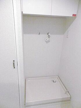 中古マンション-多摩市貝取3丁目 大きな洗濯機も置くことが可能です。