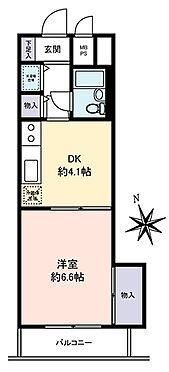 マンション(建物一部)-葛飾区西亀有3丁目 1DK・27.69平米