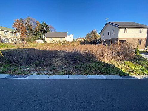 土地-北佐久郡軽井沢町大字長倉 道路から敷地内へはフラットとです