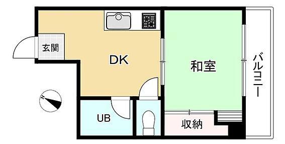中古マンション-文京区小石川4丁目 間取り