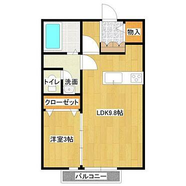アパート-仙台市青葉区川平2丁目 間取り