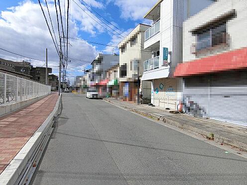 マンション(建物全部)-茨木市高田町 前面道路(南側)
