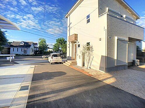 新築一戸建て-西尾市今川町一本松 周辺には大きな建物が無いので、空を大きく感じます。