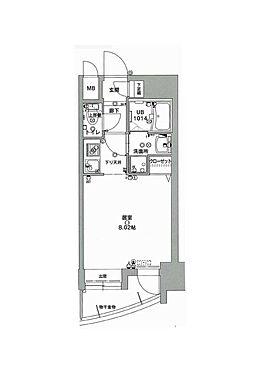 マンション(建物一部)-福岡市中央区荒戸1丁目 月額家賃48,000円
