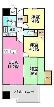 マンション(建物一部)-大阪市住之江区御崎6丁目 ファミリー向けの間取り