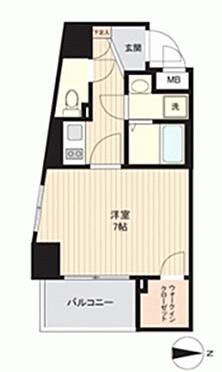 中古マンション-大阪市中央区東高麗橋 間取り
