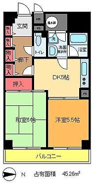 マンション(建物一部)-墨田区立川2丁目 間取り