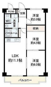 区分マンション-神戸市灘区鶴甲3丁目 人気の最上階です