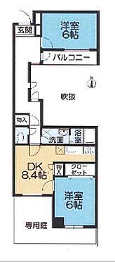 マンション(建物一部)-神戸市須磨区潮見台町2丁目 専用庭のある2DK
