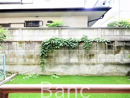 中古マンション-世田谷区経堂5丁目 南向きの明るいお庭