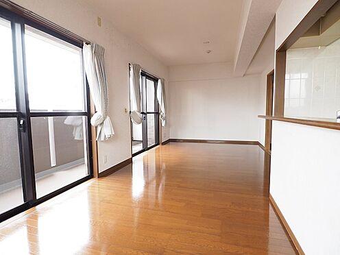 中古マンション-浦安市富士見5丁目 リビングダイニングはワイドタイプでゾーニングしやすいですよ