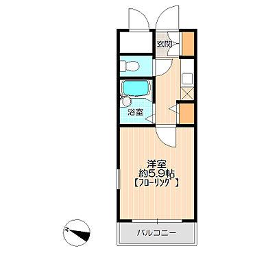 マンション(建物一部)-福岡市南区三宅3丁目 単身者に使いやすい1K
