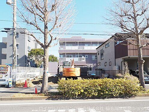 新築一戸建て-千葉市美浜区高洲1丁目 2棟現場の物件です!(1号棟は左側)