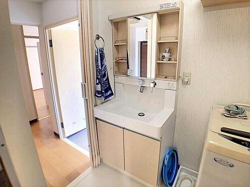 中古マンション-名古屋市天白区植田西1丁目 清潔感のある洗面所です。