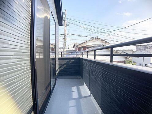 新築一戸建て-福岡市城南区樋井川4丁目 陽当たりのいいバルコニー。
