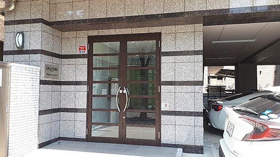 区分マンション-福岡市中央区大宮2丁目 エントランス外側