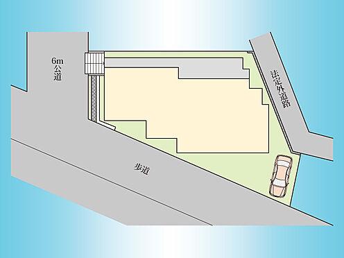 アパート-八王子市絹ケ丘1丁目 区画図