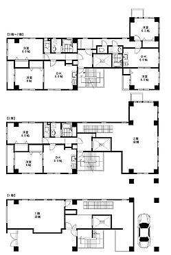 マンション(建物全部)-江東区高橋 ◆店舗(1.2階部分ベーカリーショップ)、住戸(2LDK)×11戸
