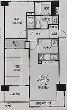 区分マンション-板橋区中台1丁目 間取り