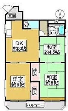 マンション(建物一部)-大阪市住吉区長居3丁目 間取り