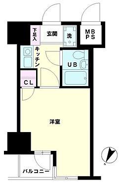マンション(建物一部)-横浜市南区浦舟町2丁目 間取り