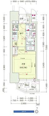 マンション(建物一部)-大阪市福島区野田3丁目 間取り