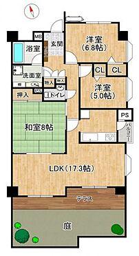 中古マンション-名古屋市昭和区元宮町3丁目 1階ならではのお庭付きで一部リフォーム済みの美邸です。