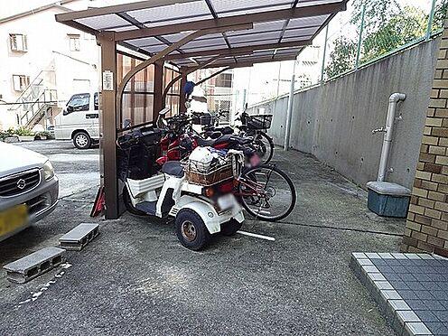 マンション(建物一部)-京都市山科区日ノ岡朝田町 駐輪場もあるので移動が楽々。