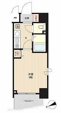 区分マンション-神戸市中央区元町通6丁目 間取り