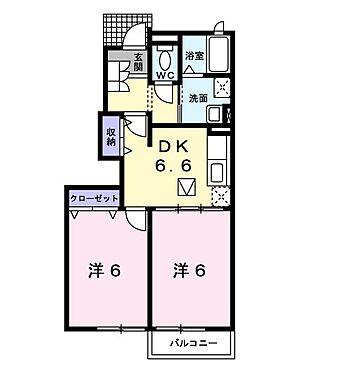 アパート-北九州市門司区吉志4丁目 Aー102の2DK