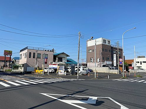土地-船橋市夏見台3丁目 事業用に適した約23m/約14m公道の角地