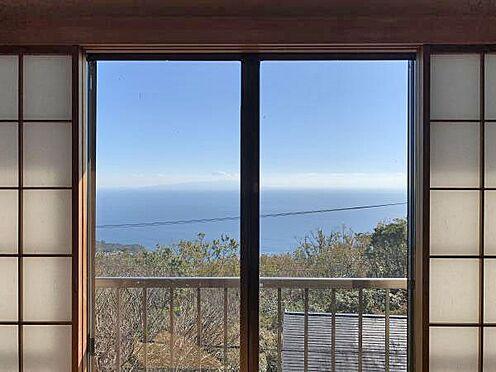 中古一戸建て-伊東市赤沢 ≪眺望≫ 8帖和室からもこの様な眺望です。