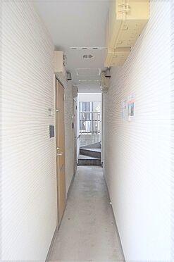 アパート-江戸川区北小岩6丁目 風通しの良い共用廊下