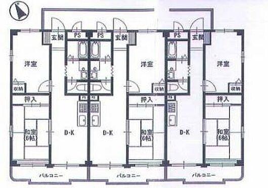 マンション(建物全部)-江戸川区東小松川4丁目 間取り