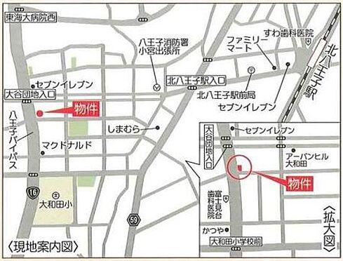 ビル(建物全部)-八王子市大和田町4丁目 地図
