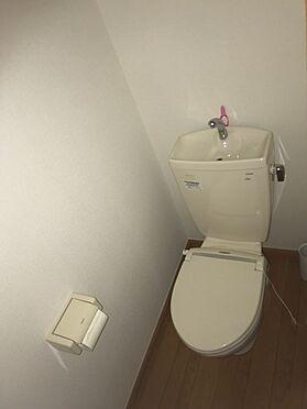 一棟マンション-葛飾区白鳥4丁目 トイレ