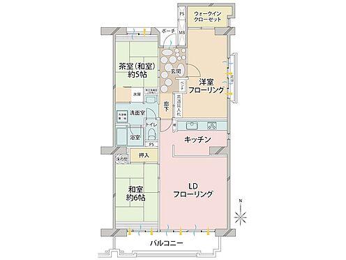 中古マンション-品川区八潮5丁目 階下が住居ではないのでお子様の足音等をきにされる方にお勧めです