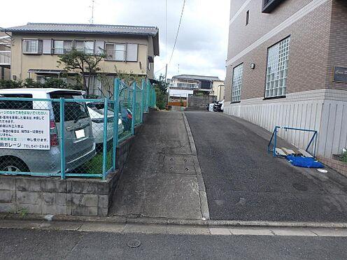 土地-京都市伏見区深草西出町 本物件区画図に掲載されています「道路部分」の写真です