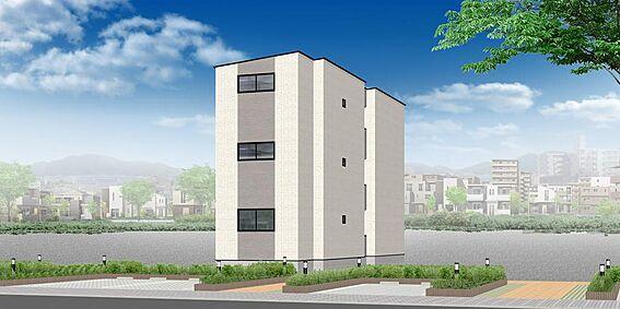 アパート-名古屋市南区大同町2丁目 外観パース ※配色等、変更になる可能性もございます。