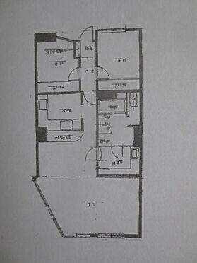マンション(建物一部)-久留米市津福今町 バルコニーは南向きです。