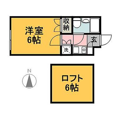 アパート-横浜市泉区新橋町 101・103号室参考間取図