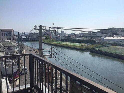 店舗付住宅(建物全部)-和歌山市小雑賀 4階からの景色。周りに2階建て以上の建物がないので大変眺望が良いです。