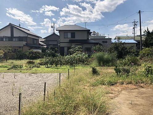 土地-蒲郡市西浦町一木 敷地面積約90坪超!!お庭を広く取りたい方や 2世帯住宅をご検討の方にもおススメです