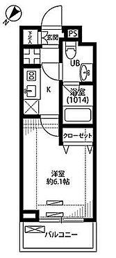 マンション(建物一部)-大田区下丸子4丁目 間取り