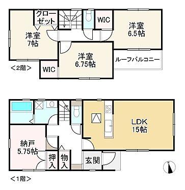 新築一戸建て-神戸市垂水区多聞台2丁目 間取り