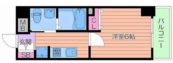 マンション(建物一部)-大阪市浪速区大国2丁目 間取り