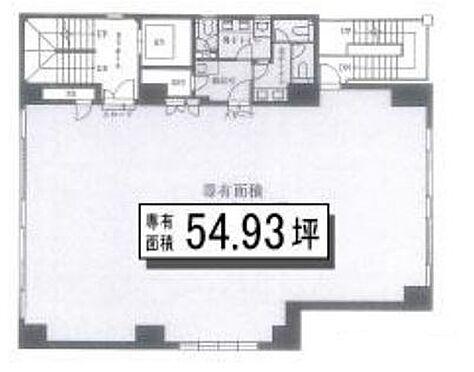 事務所(建物一部)-中央区新川1丁目 区画図