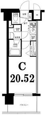 マンション(建物一部)-横浜市西区平沼2丁目 間取り