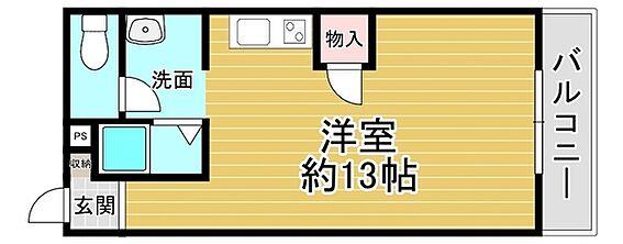 一棟マンション-京都市西京区牛ケ瀬奥ノ防町 間取り