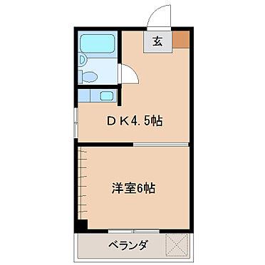 マンション(建物一部)-宮崎市上野町 間取り